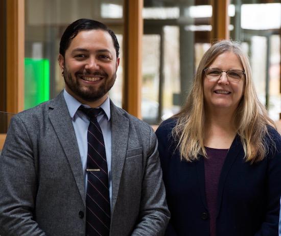 CoDaC Staff 2018 Vickie DeRose and Rafael Lopez