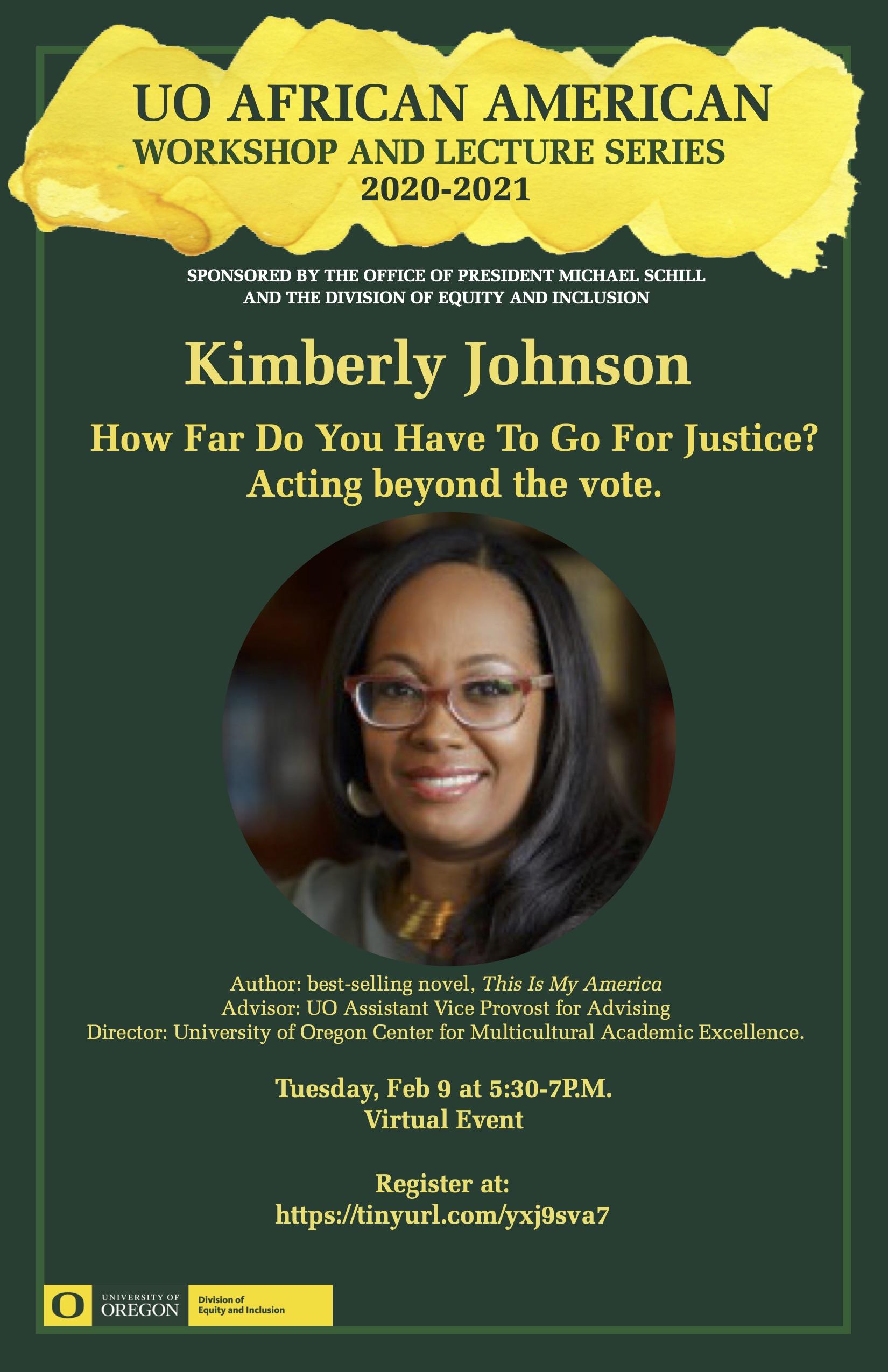 Tuesday, Feb 9 at 5:30-7P.M. Virtual Event