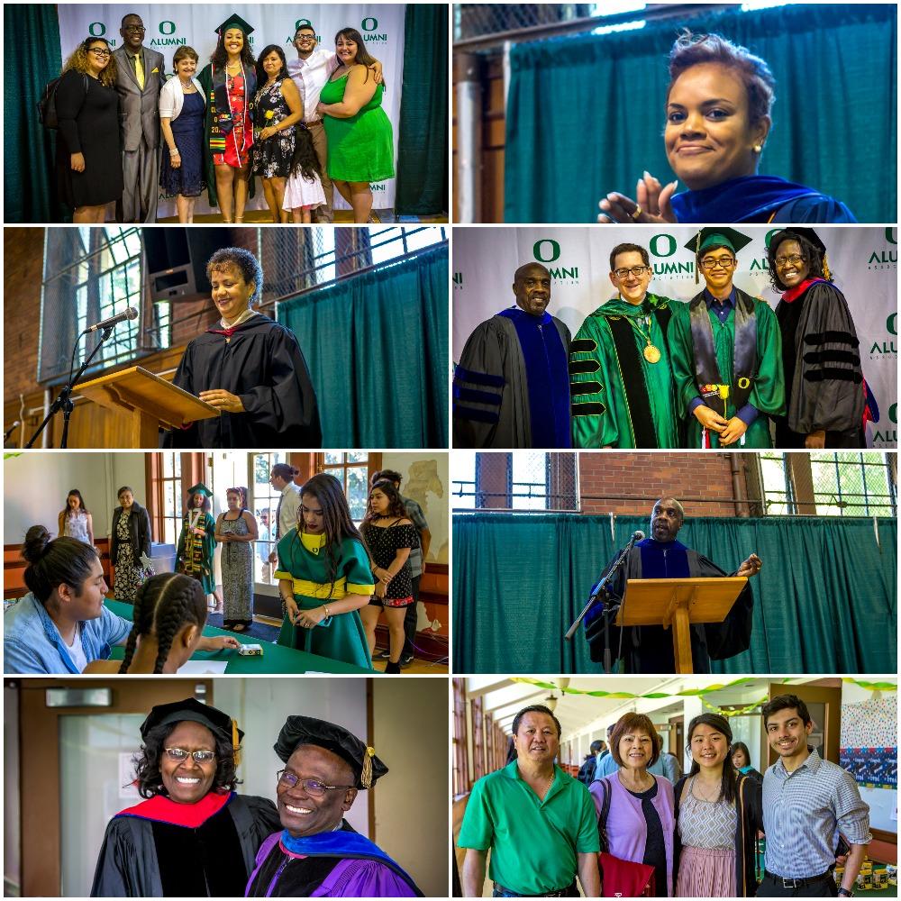 CMAE Graduation Ceremony 6_18 Collage