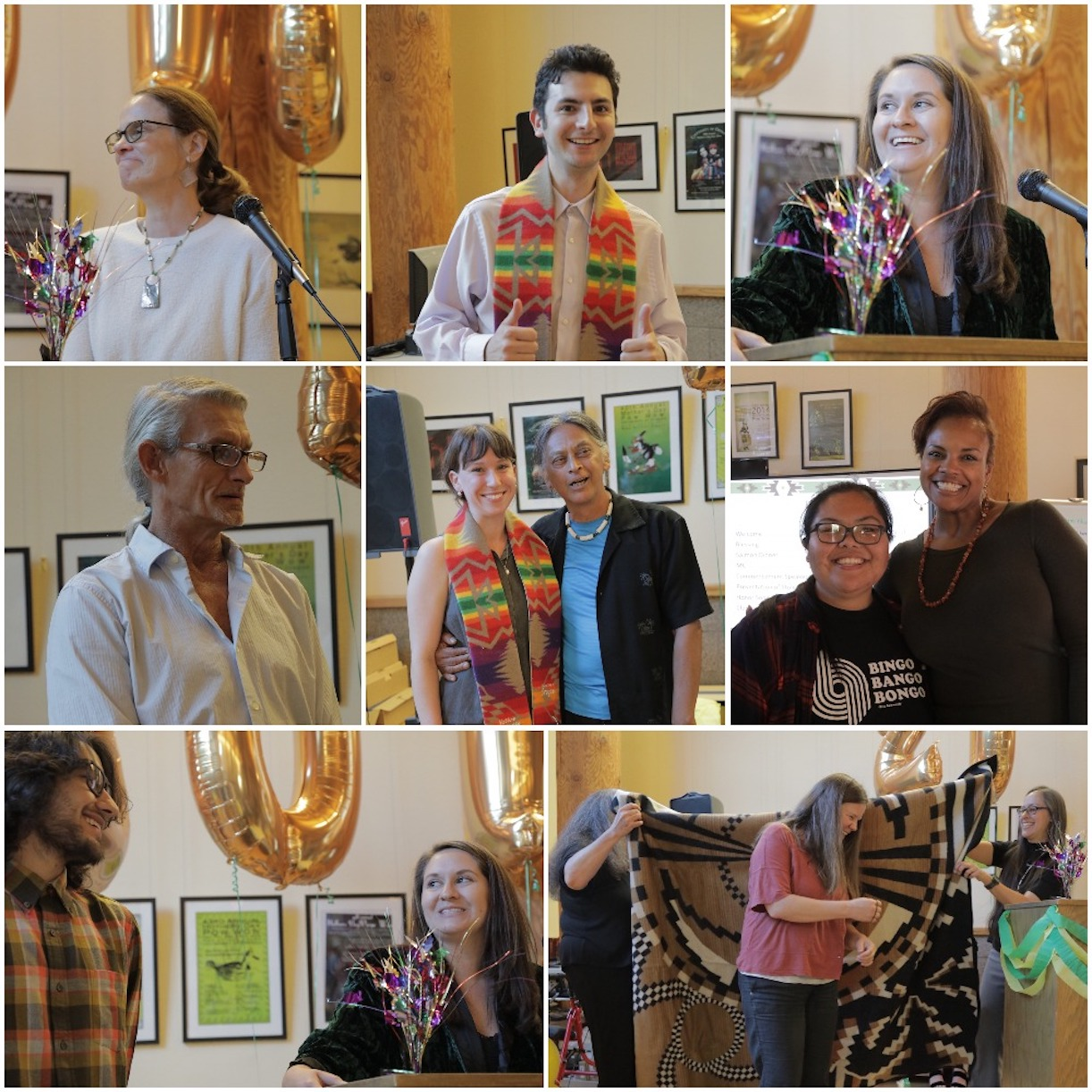Native American Graduation Ceremony Photo Collage 6_18