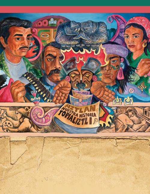 Aztlan Mural: LATINX Heritage Month Events 2017