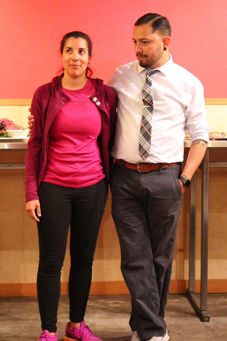CoDaC Faculty Happy Hour Rafael Lopez and Lauren Witherspoon 6_18