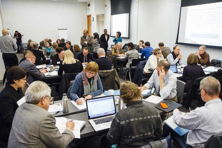 Diversity Action Plan meeting 2016