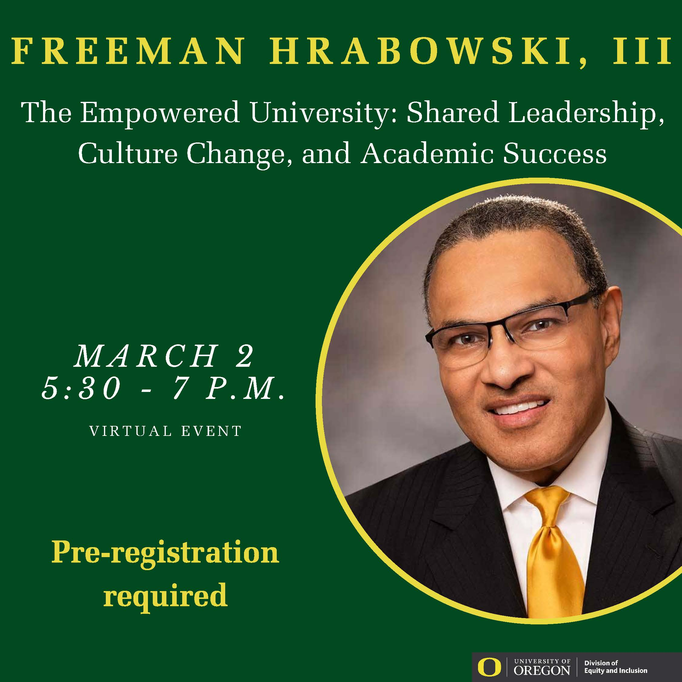freeman a. hrabowski iii.