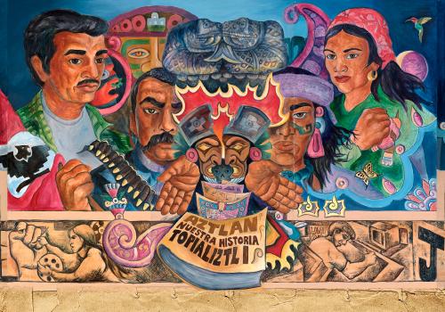 Aztlan Topializti  Mural