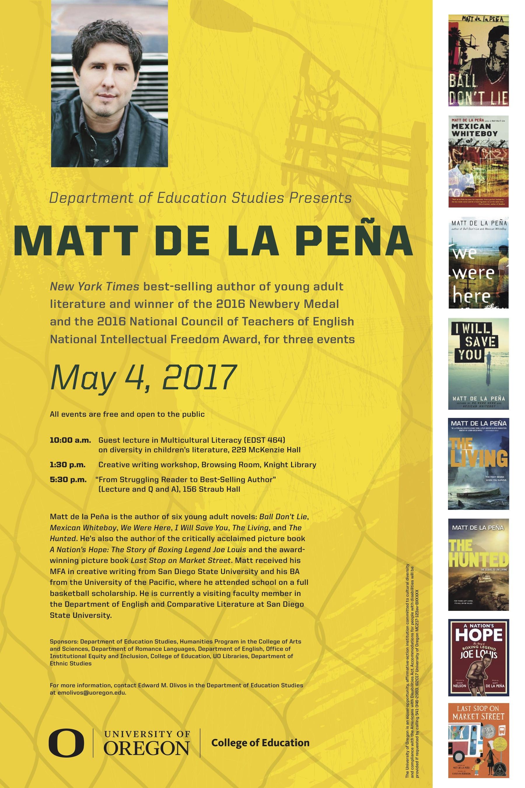 Matt De La Pena