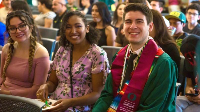 Multicultural graduation for latinx